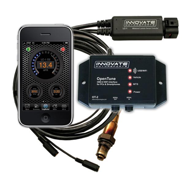 Innovate motorsports OT-2 iPhone